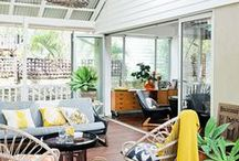 Home: Outdoor Living: Verandahs / by Jenny Prust