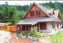 Home: Straw Bale & Earth (& Passive Solar) / by Jenny Prust