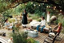 Home: Outdoor Living / by Jenny Prust