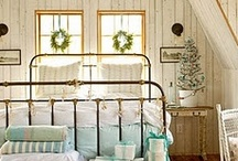 Bedrooms / by Deb Wolf