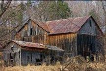 barns / by Rebecca Littlefield