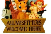 vintage toys / by Rebecca Littlefield