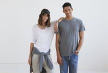 Originals / Our best basics, made of the softest, most luxurious cotton in the world. Our signature Pima Cotton tees and French Terry pieces are 100% organic and Made in Peru. http://www.alternativeapparel.com/featured/alternative-originals / by Alternative
