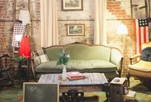 We Heart: The Green Building  / We help create spaces for many different people, brands, reasons and purposes. They run the gamut of modern decor, but always have their heart and soul rooted in the past. That's why we heart The Green Building in South Brooklyn.  / by PATINA