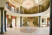 Elegant Foyer  / Luxury Interior Design| Foyer | Haleh Design Inc / by Haleh Design