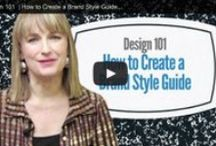 Design 101 Videos / Use design techniques like choosing a color palette, picking great fonts, using white space and visual hierarchy to help create a brand your prospects will trust and admire. These design tutorials will show you how! / by Big Brand System
