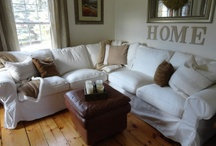New House - Living Room Ideas - Rustic Country Chic / by Irene Grubb