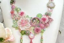 Beaded Necklaces / by Elaine GLazer