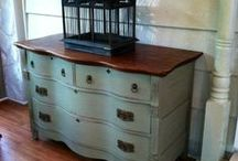URBAN RUSTIC / Painted Furniture, Urban Rustic Home Décor, Refurbished and Repurposed, Redo and Renew / by Mossy Creek Studio