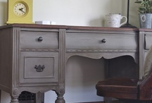Furniture Refinishing Ideas / Furniture I'd like to find or paint, hardware likes / by April Letchworth