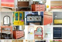 DIY-upcycle crafts & furniture makeovers / by Sherri Mick