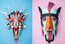 // toys: paper / by Drea ▲