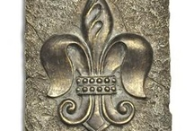 French, fleur de lis / Can't help myself, as owner of Fleur de Lis Quilts, I really do need to check out other fleur de lis designs. / by Mary Marcotte