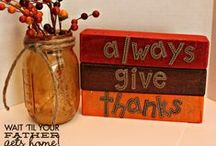 Thanksgiving / One stop for everything Thanksgiving! / by Ginni Sterling