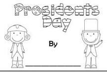 Presidents' Day / School activities to celebrate Presidents' Day / by Ginni Sterling