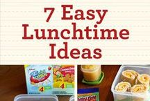 Lunch Time / Lunch time ideas.  / by Ginni Sterling