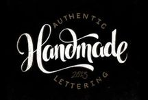 Hey, let's handletter. / by Lacy