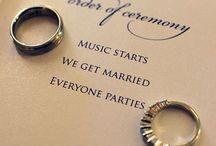Wedding ideas  / by Jennifer Brabson