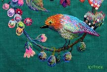embroidered fabulousness / embroidery  / by Kirsten Duncan