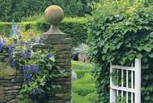 Gardening~ Walled Gardens / by Benita Kerr Brown