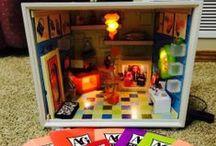 Dollhouse: Box & Dioramas / by Denise Petrey/ Sacred Fox