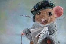 Littles / Meeces, mices & other buddies of Stuart Little (E.B. White) / by Laurabelle Smith