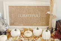 Celebrate: Thanksgiving & Fall / by Erin Schlosser