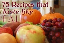 autumn recipes / by Shelly Lafleche