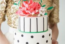 cake. / wedding and cake inspiration for the modern event / by Rachel at Outstanding Occasions