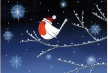 """The Night Before Christmas / A board inspired by """"The Night Before Christmas"""" range of Christmas cards by Lucy Grossmith, Published by Museums & Galleries. / by Museums & Galleries"""