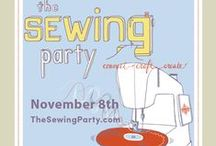 The Sewing Party / The first ever all-day online DIY event in history! On November 8, 2014, thousands of DIY'ers will gather for a fun-filled day of sewing and crafting classes taught online by leading bloggers and educational experts. Learn more at http://www.thesewingparty.com/  Connecting. Crafting. And Creating. / by SINGER Sewing Company