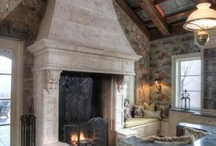 Fireplaces / by Mona Thompson / Providence Design