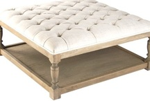 Benches and ottomans / by Mona Thompson / Providence Design