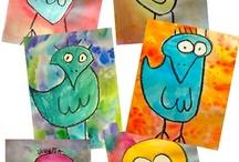 Birds / by Kathy Dribbon