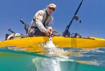 Fishing Kayaks <°))))><| / Sea Kayaking, Paddle boards, Fishing Lures & Fishing Tackle And Accessories.  / by Joseph Gallant