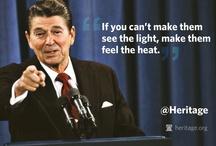 PRESIDENT Ronald Reagan / President Ronald Wilson Reagan & First Lady Nancy Reagan / by Joseph Gallant