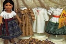 Sewing and Crafting for the Dolls - 1 Kaya, Felicity, Caroline, Josefina / by Tricia Roux