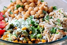 Salads and grains / by Chantelle Mahoney