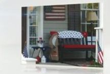 Patriotic Home Decorations / Fourth of July Decorations / by Westhaven Community in Franklin, TN