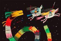 Tekenlesidee het verre Oosten / by Kleur Potlood