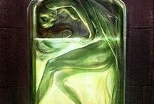 green fairy / by ❤️Michala Frank