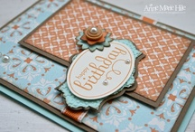Hand made card creation ideas from fellow paper crafters / These are things that caught my eye for inspiration. / by Donna Polley
