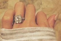 weddings | engagement rings / by Ever So Lovely® Inc.