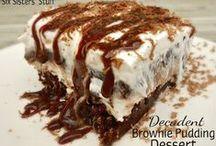 Recipes:  Desserts.... / by Debbie Puksar