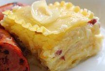 Recipes:  Pasta and Pierogis...... / by Debbie Puksar