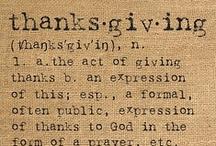 Fall and Thanksgiving / by Meghan Barnett