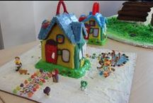 LeapFrog gingerbread house competition / Us LeapFroggers did a friendly gingerbread house competition. Who do you think had the sweetest house on the block? / by LeapFrog Official