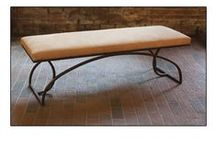 Benches by Charleston Forge / Benches  At the foot of a bed.In the hallway. At the dining  table. Benches make practical seating  and functional accents for many areas. With comfort in mind, ours will please more than just your eyes.    / by Charleston Forge