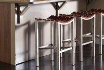 Counterstools by Charleston Forge / Three decades of making people comfortable.  Long legs, sensuous curves, simple yet beautiful.  They're not just made for sitting pretty,   They're made to be used...and used... and used. / by Charleston Forge