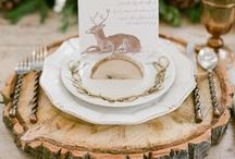 Rustic Thanksgiving / A little southern hospitality and the rustic feel of the old world style meet to give you a memorable Thanksgiving from table top decorations, furniture, to recipes, and easy how to's / by Charleston Forge